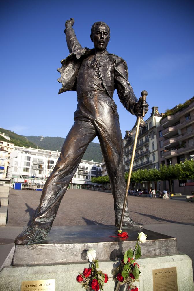 Freddie Mercury socha
