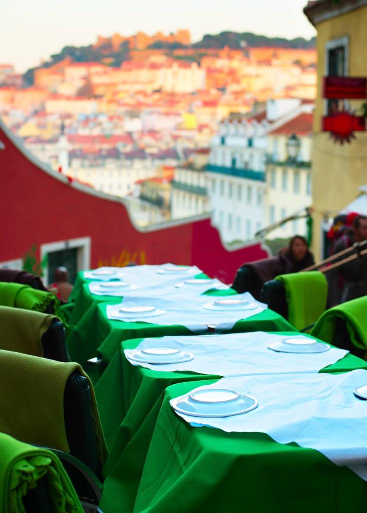 Jídlo Lisabon