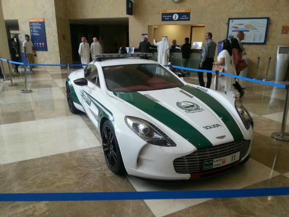 Aston Martin One-77 dubai