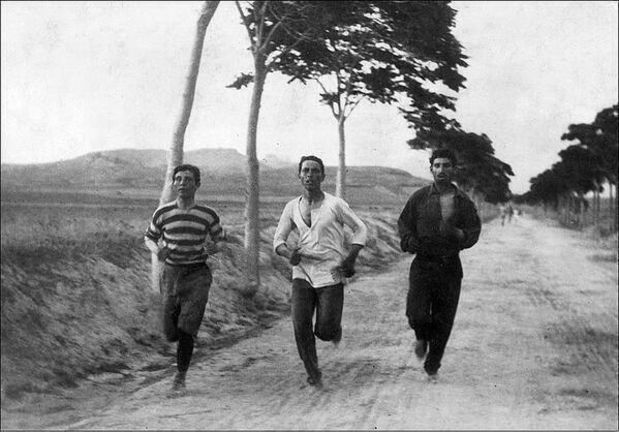 marathon-on-the-first-summer-olympic-athensgreece-1896