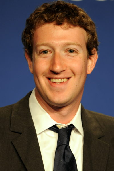 Mark Zuckerberg, Founder & CEO of Facebook, at the press conference about the e-G8 forum during the 37th G8 summit in Deauville, France.